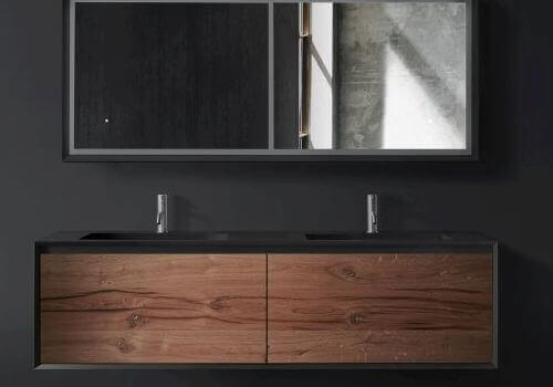 Luxurious bathroom and kitchen design